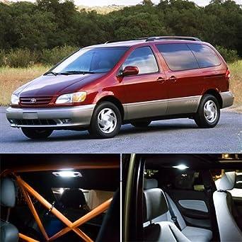 1998 2003 Toyota Sienna Interior LED Lights Kit   White