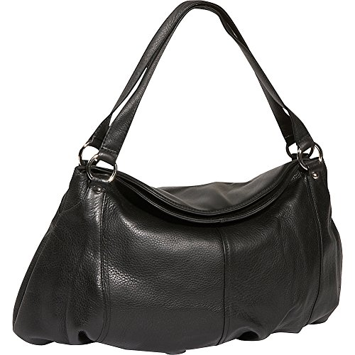 Derek Alexander Large Gathered Pouch Handbag - Gathered Bag Hobo Leather