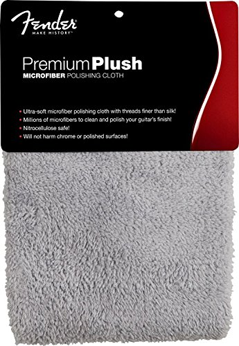 - Fender Premium Plush Microfiber Polishing Cloth