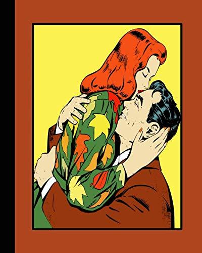 Retro illustration journal: Unique designed dot grid Journal for the retro illustration lover - Kitsch kissing and -