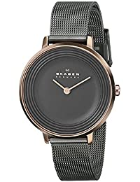 Skagen Women's Ditte SKW2277 Charcoal Grey Stainless-Steel Quartz Watch