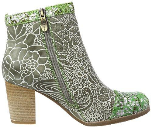 Laura Vita Women's Anna 138 Chelsea Boots Green (Kaki Kaki) gmi4kt