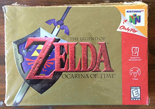 [The Legend of Zelda Ocarina of Time N64 New and Sealed] (Museum Of Country Life And Costume)