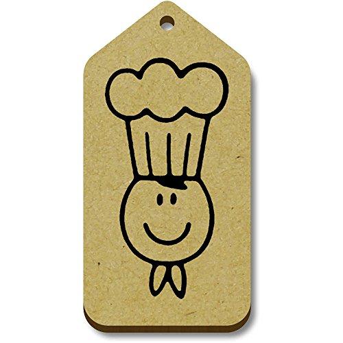 'Happy regalo 10 66mm Tag bagaglio Azeeda 34mm tg00068891 Chef' X gZ6WBq