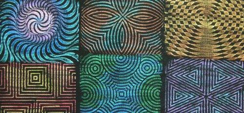 Artist's Paintstiks Rubbing Plates 6/Pkg
