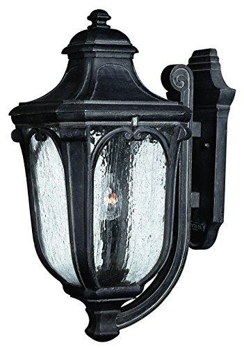 - Hinkley Lighting 1315MB Trafalgar Outdoor Light, Museum Black by Hinkley