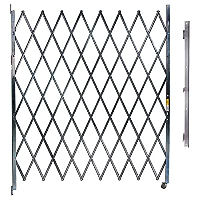 Single Folding Gate, 6'W to 7'W and 6'H