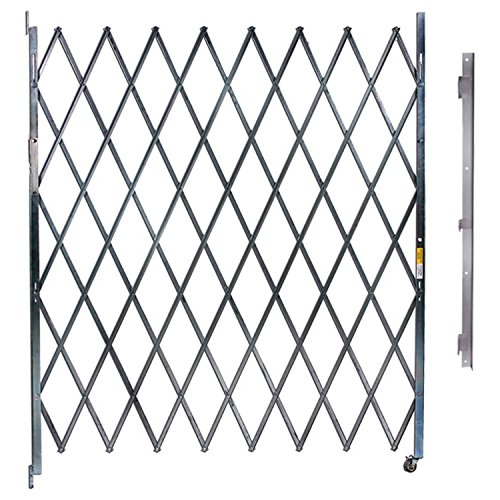 Single Folding Gate, 9'W to 10'W and 6'H by Illinois Engineered Products