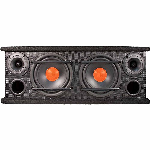 Dual Electronics SBX6502 2 Way Full Range Enclosed Speakers with 6.5 inch Woofers & 3 inch Horn Tweeters