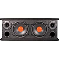 Dual Electronics 2 Way Full Range Enclosed Speakers with 6.5