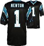 Cam Newton Carolina Panthers Autographed Nike Elite Black Jersey - Fanatics Authentic Certified - Autographed NFL Jerseys