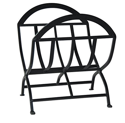 Compact Log Rack, Folding, Black Color, Made Of Steel, Large Size, Elegant Design, Durable And Sturdy Construction, Easy Firewood Storage, Convenient Transport, Ideal Decor For Your Home & (Folding Log Carrier)