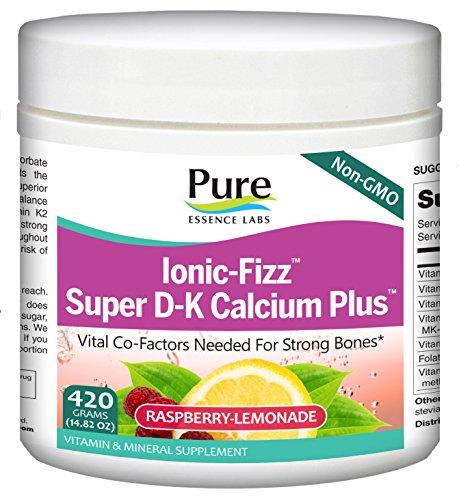 Pure Essence Labs Ionic Fizz Super D-K Calcium Plus -