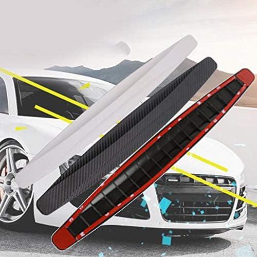 BianchiPamela Car Bumper Protector Strip 1 Pair Universal Anti-collision Bumper Guard