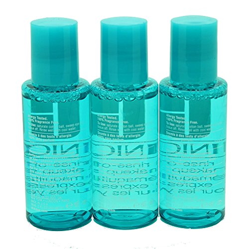 Clinique Rinse-off Eye Makeup Solvent 2oz 60ml*3 6oz