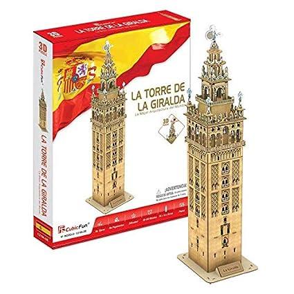 CubicFun Puzzle 3D La Torre de la Giralda (CPA Toy Group Trading SL C0218)
