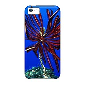 New Arrival Iphone 5c Case Animals Under Water The Underwater World Of The Red Sea Case Cover hjbrhga1544