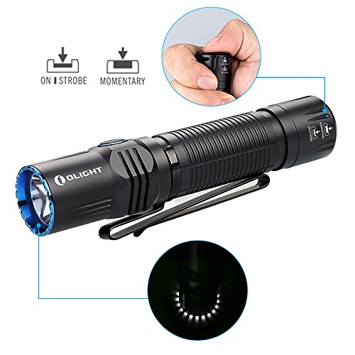 olight-m2r-warrior-usb-magnetic-rechargeable-dual-switches-tactical-flashlight-bundle-graphenefast-battery-case-1500-lumen-cool-white