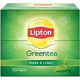 Lipton Pure & Light Green Tea Bags, 10 Pieces
