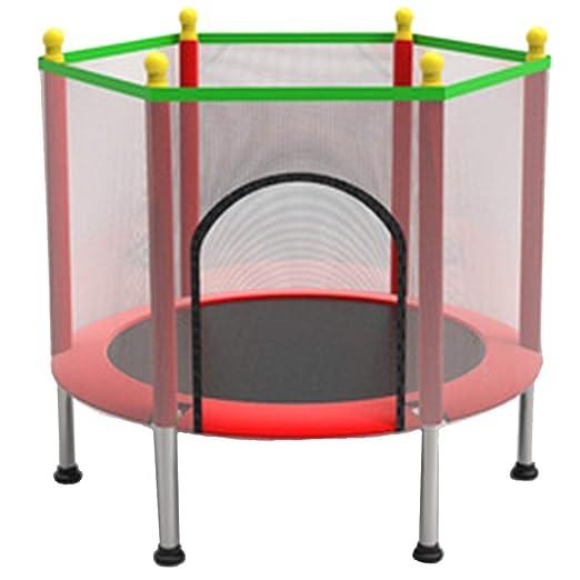 CHENHS-Cama elástica Niños con Protección De Seguridad para Uso En ...