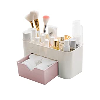 Desktop Makeup Organizer Drawers BAFFECT Coffre de rangement de