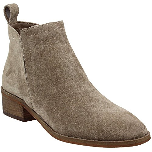 Dolce Vita Women's Tessey Boot, Dark Taupe Suede, 7.5 M US by Dolce Vita