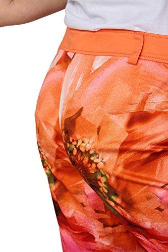 Basler Mujer Pantalón Pantalón 3/4de India, color: aprikot Aprikot 40