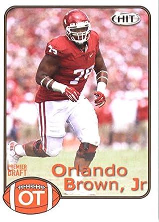 hot sale online f52ee e68dc Amazon.com: Football NFL 2018 Hit Premier Draft #9 Orlando ...