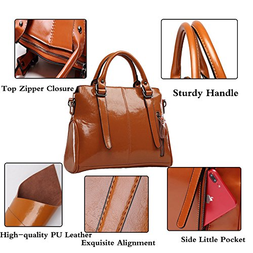 Handbags Hobo Tote Top Vintage Ladies Bags Messenger FiveloveTwo handle Satchel Purse Rose Women Shoulder wTSq7z