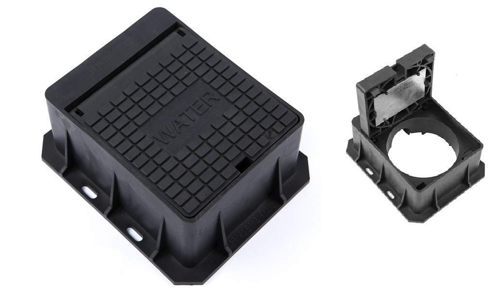 CLARK Drain cd880/140/mm x 115/mm x 75/mm Stop Wasserhahn Stop Schwanz Hydrant Deckel PVC Locking Surround Box
