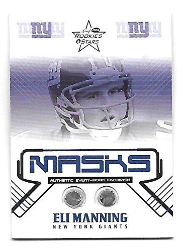 ELI MANNING 2004 Leaf Rookies Stars R&S Masks Memorabilia RC /325 NY ()