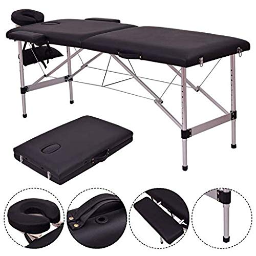 - Safeplus 84'' L Folding Massage Table Massage Bed Professional Spa Bed Carry Case Portable Facial Salon Tattoo Bed