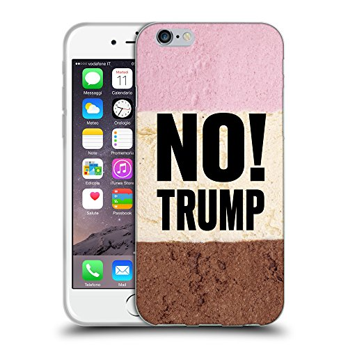 Super Galaxy Coque de Protection TPU Silicone Case pour // Q04100529 Pas de trump chocolat // Apple iPhone 6 4.7""