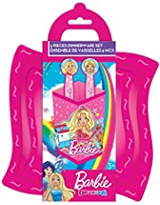 Barbie 5 Piece Dinnerware Set