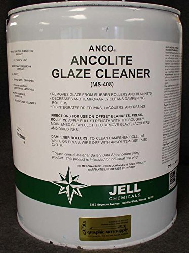 Ancolite Glaze Cleaner, 5-Gallon pail