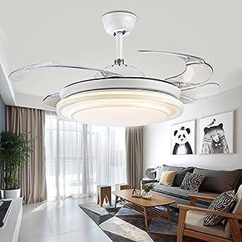 Unsichtbare Decke Ventilator lampe Fan Light LED Lampe einfach Mode ...
