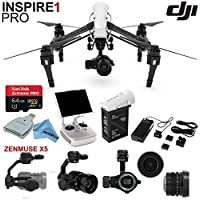 DJl lnspire 1 Pro Quadcopter Drone with eDigitalUSA Ready To Fly Kit: Includes TB47B Battery, Wireless Transmitter and more...