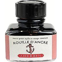 J. Herbin Bottled Ink Refill - Rouille D Encre 130/58