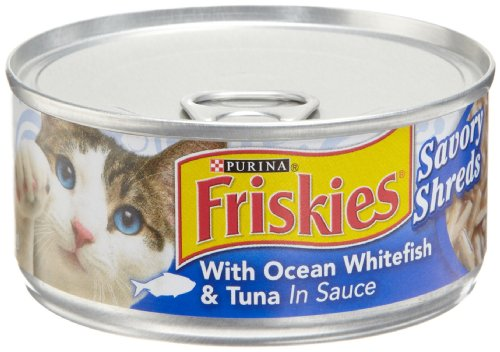 Purina-Friskies-Savory-Shreds-with-Ocean-Whitefish-Tuna-in-Sauce-Cat-Food-24-55-oz-Pull-top-Can