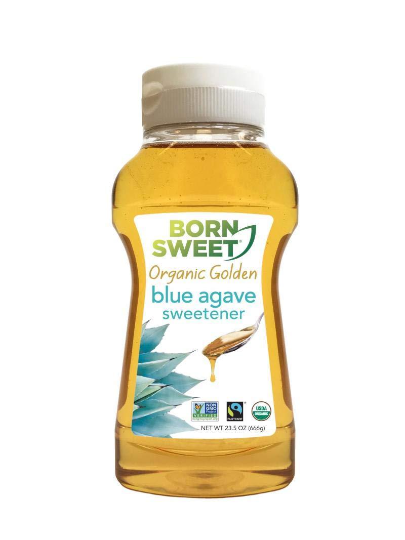 Born Sweet Organic Golden 100% Blue Agave Sweetener - 23.5 oz