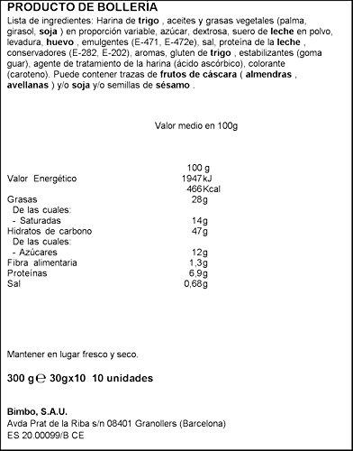 Croissant Bimbo - 10 unidades - 300 g: Amazon.es ...