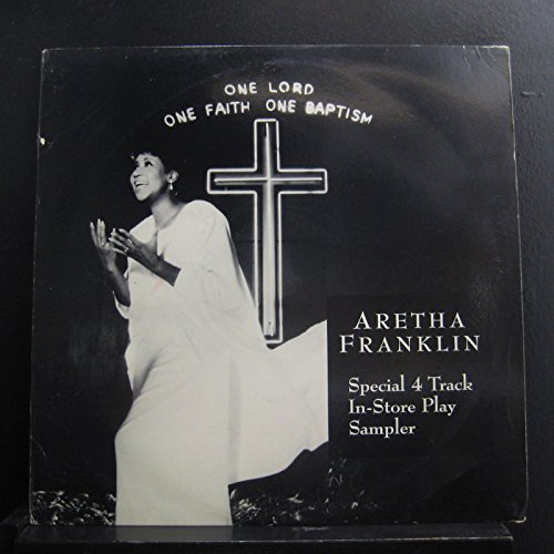 Aretha Franklin - One Lord One Faith One Baptism - Special 4 Track In-Store Play Sampler - Lp Vinyl Record