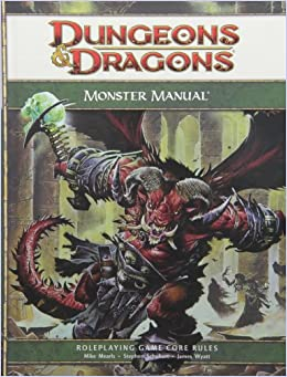 Dungeons & Dragons Monster Manual: Roleplaying Game Core Rules ...