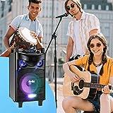 Moukey Karaoke Machine Speaker,Bluetooth Outdoor