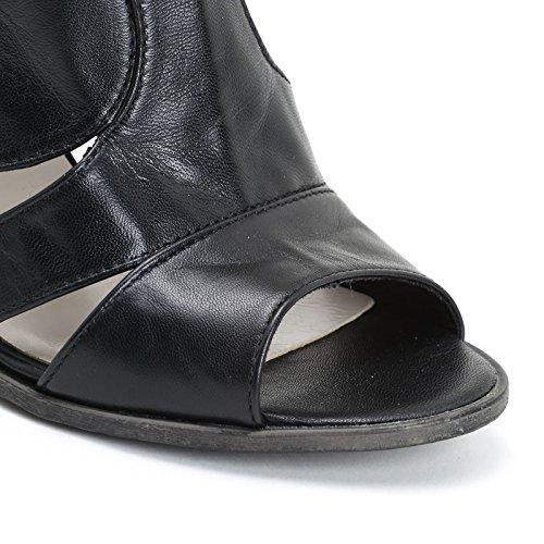 92057a1948a Sandalias Negro Altas Laterales Scarpe Aperturas Alesya amp scarpe Con  wqFCH44P