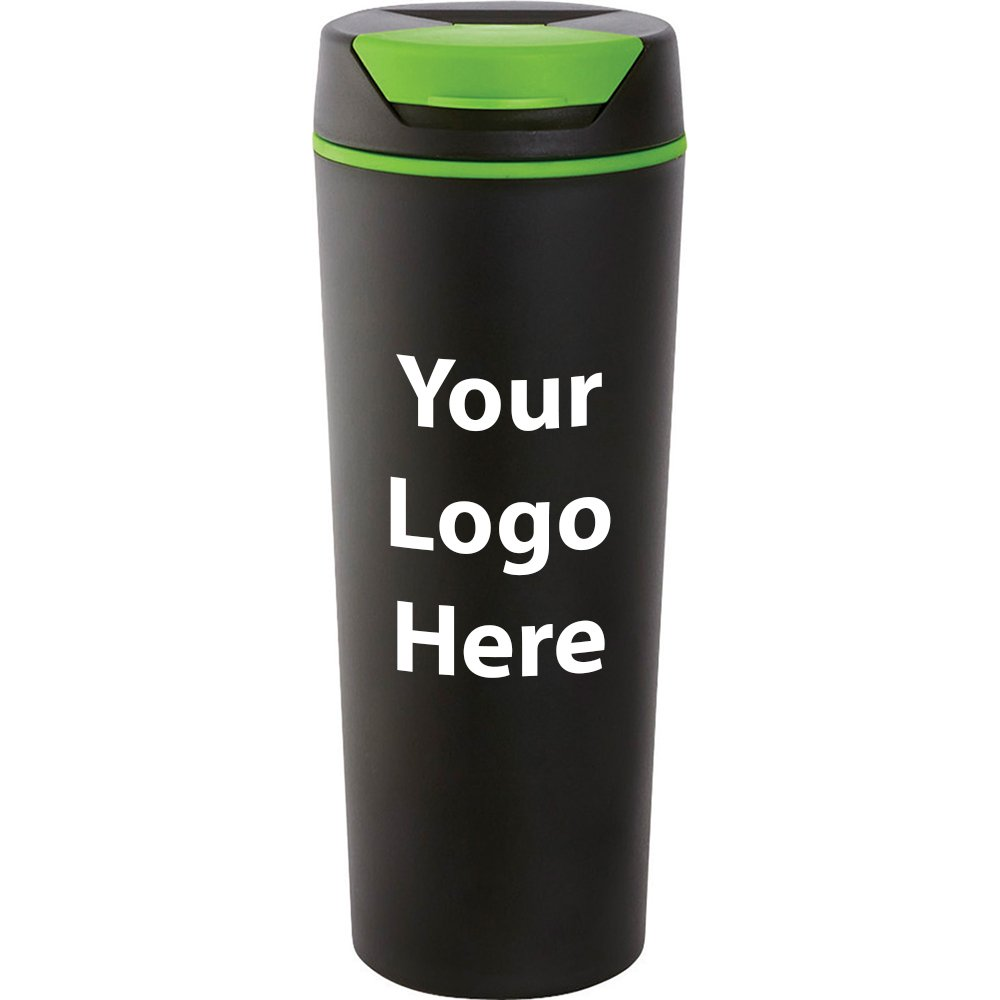Julian 16 Oz. Travel Tumbler - 100 Quantity - $4.35 - PROMOTIONAL PRODUCT / BULK / BRANDED with YOUR LOGO / CUSTOMIZED