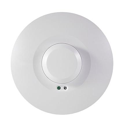 XCSOURCE® Techo microondas PIR cuerpo Sensor de movimiento Presencia Detector de presencia Luz Interruptor de