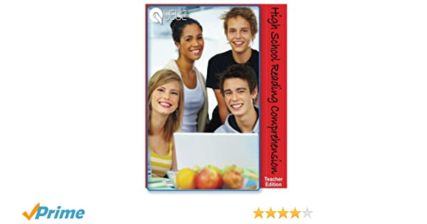 Amazon.com: High School Reading Comprehension Teacher Edition ...