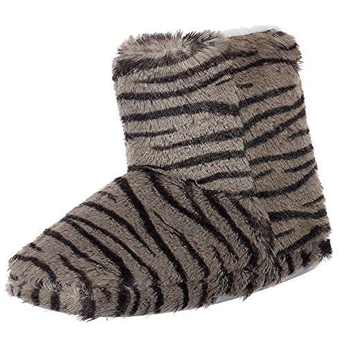 brandsseller Zapatillas de Estar por casa de Material Sint/ético para Hombre