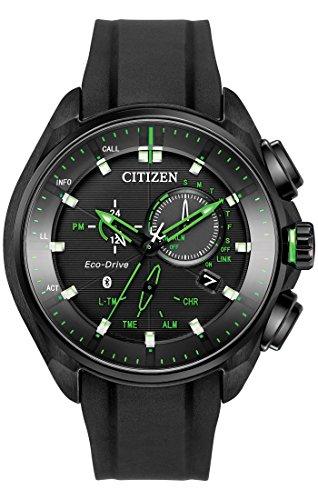 Citizen ECO-DRIVE BZ1028-04E Mens Limited Edition Bluetooth Chrono Watch w/ Date
